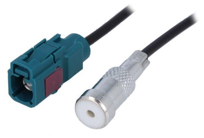 Antenas adapteris FAKRA - ISO ligzda, kabeļa garums 23cm
