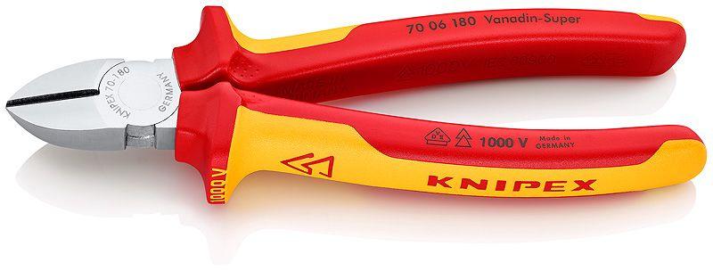Profesionālās knaibles 7006180 ( 1000 V ) KNIPEX